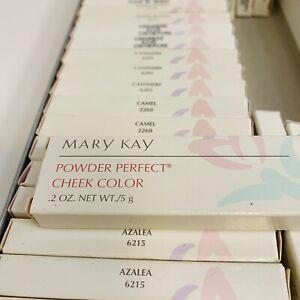Mary Kay POWDER PERFECT Cheek Color - Discontinued NIB