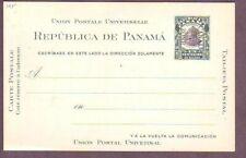 Canal Zone Postal Stationery UX2, UPSS # S5, unused [stk 96