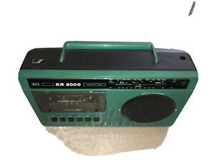 DDR Radiorecorder KR 2000 RFT