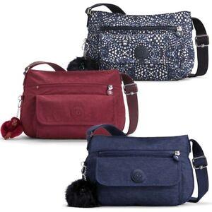 Kipling Syro- Zip Top Shoulder Bag - 3 Colour Ways