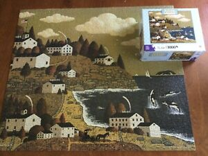 Jigsaw Puzzle Wysocki 1000 Pc Whale Of A Good Time 2008 Excellent Complete  Ub