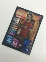 MATCH ATTAX 19/20 LIMITED EDITION MOHAMED SALAH LIVERPOOL BRONZE LE1B
