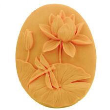 DIY Lotus Flower Silicone Moulds Handmade Soap Mold Sugar Craft 9*7.4*3.2CM