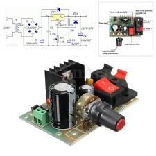 1A LM317 Adjustable Voltage Regulator Power Supply Module Switch W/ AC/DC Input
