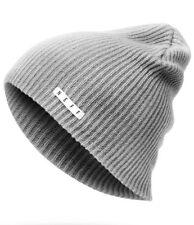 NEFF Daily Beanie Gray Unisex Hat Winter Head Wear