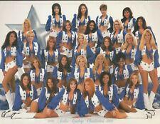 1998-1999 Rare Vintage Dallas Cowboys Cheerleader Poster Card 8.5x11