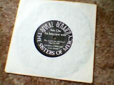 "The Sisters Of Mercy An Interview with rare Spiral Scratch Magazine 7"" vinyl"