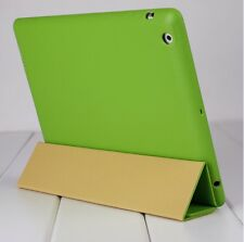 New Jisoncase Green High Quality Micro Fiber Case Cover For Apple  iPad 2 & 3rd