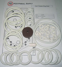 1968 Williams Cue-T Pinball Machine Rubber Ring Kit