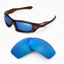 New Walleva Polarized Ice Blue Lenses For Oakley Monster Pup