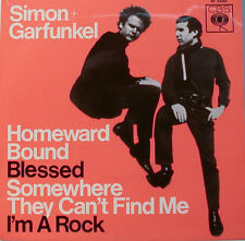 "SIMON + GARFUNKEL - HOMEWARD BOUND - BLESSED - I m A ROCK  EP 7""SINGLE (G2)"