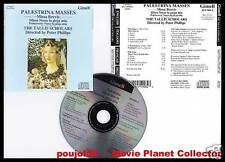 """PALESTRINA """"Missa Brevis"""" (CD) Tallis Scholars 1986"""