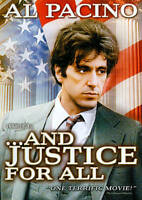 AND JUSTICE FOR ALL (DVD) NEW Ships Free USA