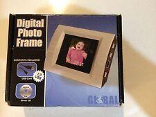 New: Global Mini Digital Photo Frame Viewer 1.5 CSTN-LCD Screen 8MB Memory
