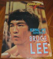 Bruce Lee - POSTER magazine Nr.065/1 - Yugoslavian December 1978 VERY RARE