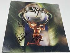 EDDIE VAN HALEN, ALEX, WOLFGANG SIGNED AUTOGRAPH 5150 ALBUM RECORD VINYL LP REAL