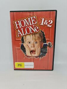 HOME ALONE 1 & 2 DVD Region 4 Movie Very Good Condition FREE SHIPPING