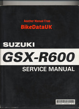 Suzuki GSXR600 K4 (2004 >) Genuine Factory Service Repair Manual GSXR 600 BR30