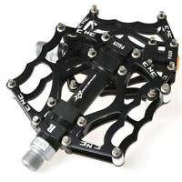 "RockBros Bike Pedals MTB BMX DH Downhill Seald Bearing Pedals 9/16"" Black"