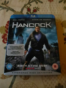 HANCOCK 2008 FILM STARRING WILL SMITH BLU-RAY DISC REGION B UK