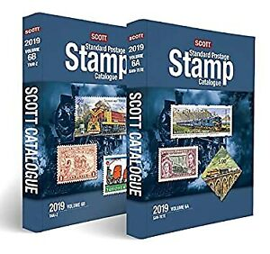 Scott Standard Postage Stamp Catalogue 2019: United States, United Nations, & Co