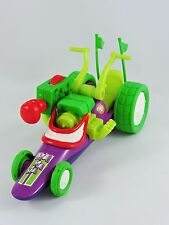 Hero World The Joker Funny Car dragster DC Super Friends Batman 2010 FisherPrice