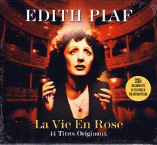EDITH PIAF - LA VIE EN ROSE (NEW SEALED 2CD)