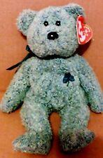 Ty Beanie Baby Shamrock Irish Green Bear