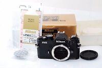"""Nikon New FM2 35mm SLR Film Camera Body """"Rear Near Mint in Box"""" #1244"""
