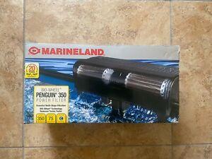 MARINELAND PENGUIN POWER FILTER FISH TANK PF0350B 350GPH