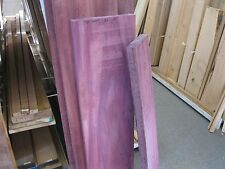 Exotic Purple Heart Hardwood 8/4 Lumber $35 a board foot!