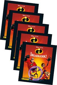 Panini - Die Unglaublichen 2 - Serie 2 - Sammelsticker - 25 Sticker - 5 Tüten