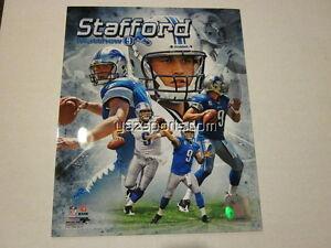 Matthew Stafford Detroit Lions Collage 8x10