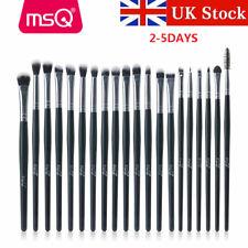 UK Pro 20Pcs Eyeshadow Eyebrow Blending Shader Brushes Set Soft Eye Makeup Brush