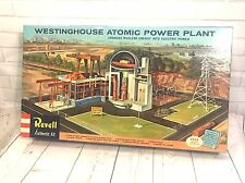 Revell Westinghouse Atomic Power Plant Model H-1550:695 Vintage 1959 Super Rare
