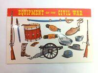Vintage Postcard Mementoes of the American Civil War Equipment