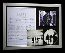 U2 Stuck In A Moment LTD NOD QUALITY CD FRAMED DISPLAY+EXPRESS GLOBAL SHIP!!