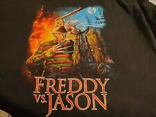 Fright Crate Horror T-shirt Tee Jason's Vs Freddy Sizes Large Brand New