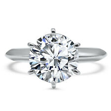 147fc5aa5bf95 Swarovski Cubic Zirconia Engagement Rings for sale | eBay