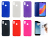 Etui Gel Silicone Housse Coque Huawei Honor 8A / Y6 2019 + Protecteur Optionnel