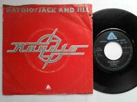 """Raydio / Jack And Jill 7"""" Vinyl Single 1978 mit Schutzhülle"""
