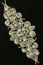 Rhinestone Brooch Applique Costume Dress Sewing Wedding Sash Cake Decoration #34