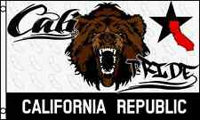 Cali Pride Flag 3x5 ft California Republic Bear Head State CA 36 x 60 inches