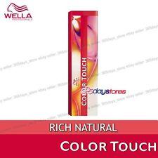 Wella Color Touch Semi Permanent Hair Dye 60ml 6/71 Dark Blonde Brown Ash