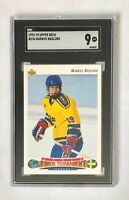 1992 Upper Deck Markus Naslund RC SGC 9, card #234 Canucks