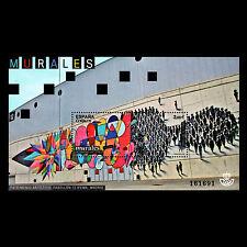 "Spain 2016 - Artistic Heritage ""Hall 12 of IFEMA"" Modern Art - MNH"