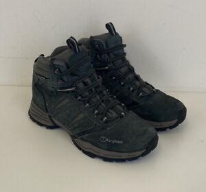Berghaus Expeditor AQ Trek Tech Boots Grey Leather Sz 7 UK