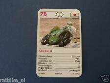 4-MOTO GP 7B KAWASAKI 903 CC ENDURANCE KWARTET KAART RACEMOTOREN,SPIELKARTE