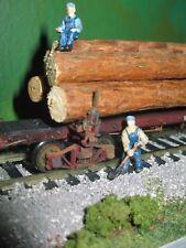 Genuine Pine Log Load for Kadee & Rivarossi Log Cars Logging USA Wooden Logs