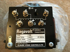 Regavolt 708 Variac Variable Transformer Unused in box